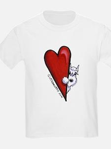 White Schnauzer Lover T-Shirt