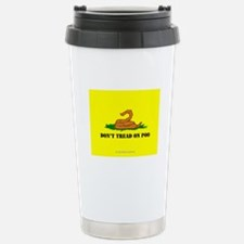 Don't Tread On Poo Stainless Steel Travel Mug