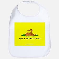 Don't Tread On Poo Bib