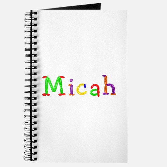 Micah Balloons Journal