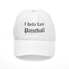 I Hella Love Paintball Baseball Cap