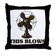 This Blows Throw Pillow