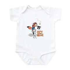Falling star Infant Bodysuit