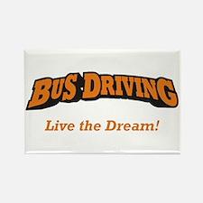 Bus Driving / LTD Rectangle Magnet
