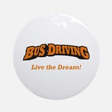 Bus Driving / LTD Ornament (Round)
