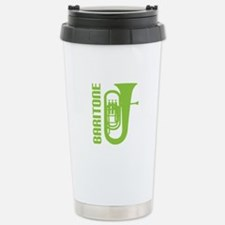 Music Silhouette Baritone Travel Mug