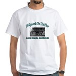 Hollywood On The Pike White T-Shirt