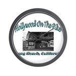 Hollywood On The Pike Wall Clock