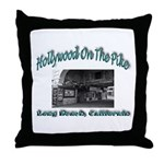Hollywood On The Pike Throw Pillow