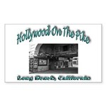 Hollywood On The Pike Sticker (Rectangle)