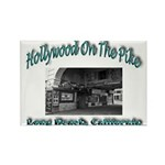 Hollywood On The Pike Rectangle Magnet