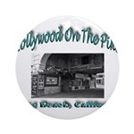 Hollywood On The Pike Ornament (Round)