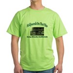 Hollywood On The Pike Green T-Shirt