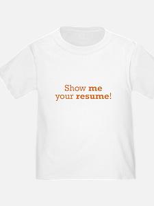 Show me / Resume T