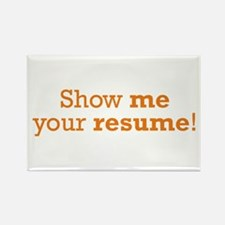 Show me / Resume Rectangle Magnet (100 pack)