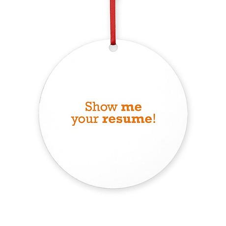Show me resume