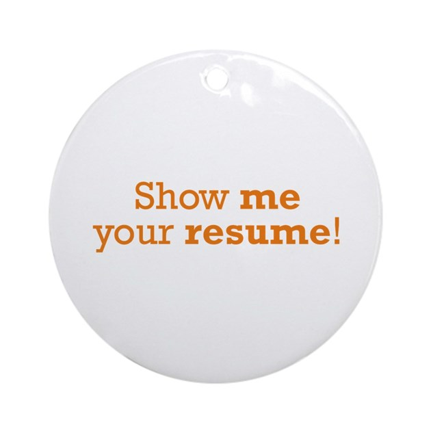 show me a picture of a resume