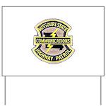 Missouri Highway Patrol Commu Yard Sign