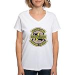 Missouri Highway Patrol Commu Women's V-Neck T-Shi