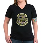 Missouri Highway Patrol Commu Women's V-Neck Dark