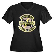 Missouri Highway Patrol Commu Women's Plus Size V-