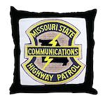 Missouri Highway Patrol Commu Throw Pillow