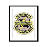 Missouri Highway Patrol Commu Framed Panel Print