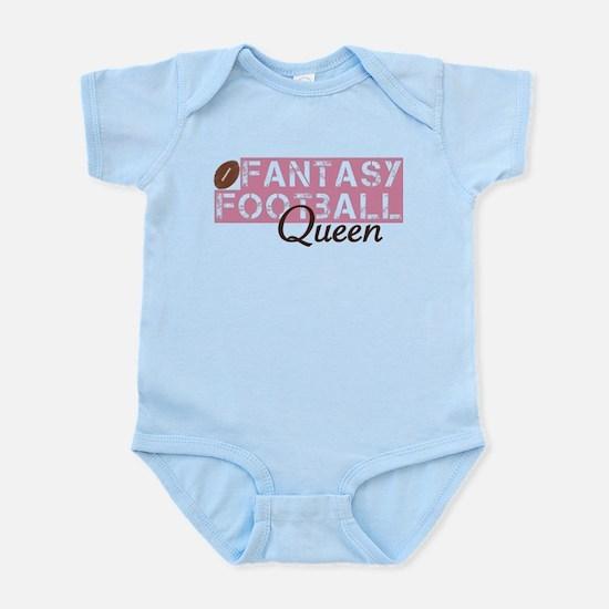 Fantasy Football Queen Infant Bodysuit