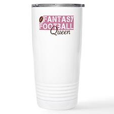 Fantasy Football Queen Travel Coffee Mug
