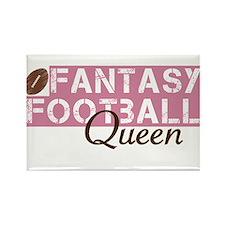 Fantasy Football Queen Rectangle Magnet