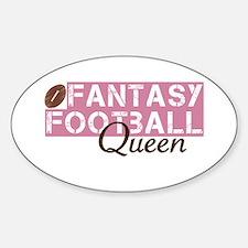 Fantasy Football Queen Decal