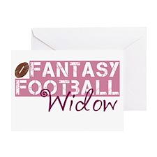 Fantasy Football Widow Greeting Card