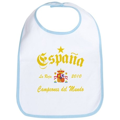 Spain World Champions Bib