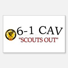 6th Squadron 1st Cav Decal