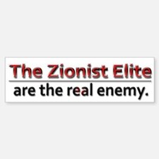 Zionist Elite Enemy - Car Car Sticker