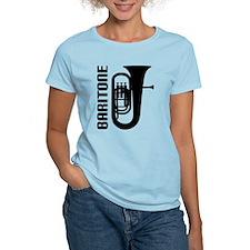 Music Silhouette Baritone T-Shirt