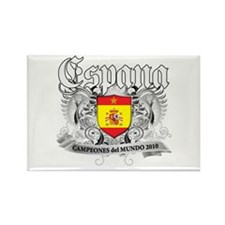 Spain world cup champions Rectangle Magnet