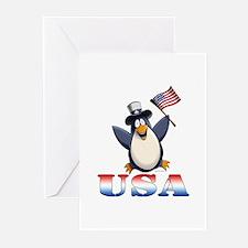 American Penguin Greeting Cards (Pk of 20)