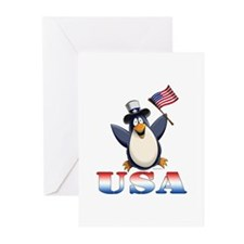 American Penguin Greeting Cards (Pk of 10)