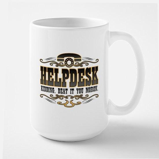 Helpdesk Large Mug