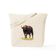 African Water Buffalo Tote Bag