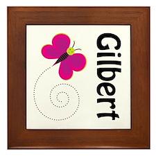 Cute Gilbert Arizona Framed Tile