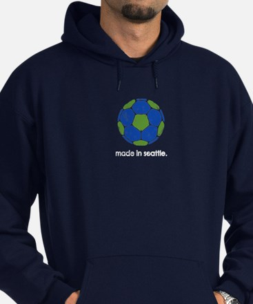 Made in Seattle. *Vintage* Hoodie (dark)