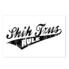 Shih Tzus Rule Postcards (Package of 8)