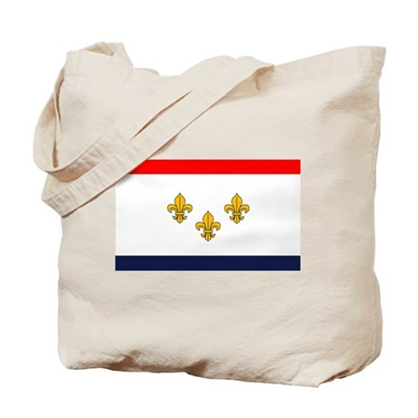 Flag of New Orleans Tote Bag