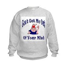 Me In Your Mind Sweatshirt