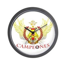 2010 Spain Campeones (tribal) Wall Clock