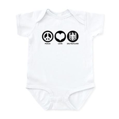 Peace Love Deutschland Infant Bodysuit