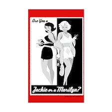 Jackie or Marilyn Decal