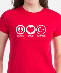Peace Love Turkiye Tee